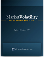Market Volatility—Why It's Increasing. Steps to Take. By Larry Bakerjian, CFP®, LB Asset Strategies, Inc.